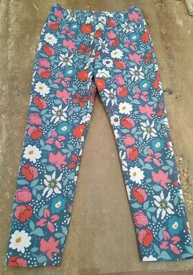 Girls John Lewis Floral Trousers Age 7 Leggings