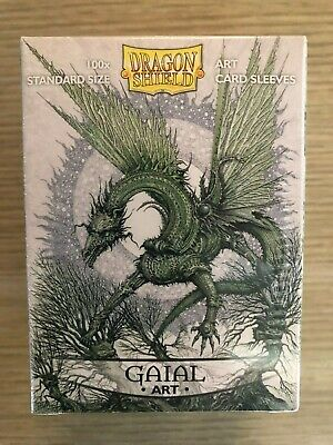 Dragon Shield Gaial Art sleeves Brand New factory sealed 100ct limited ed. Matte