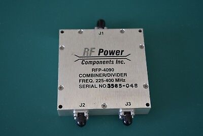 One RF Power Components Combiner/Divider P/N RFP-4090