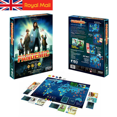 New Z-Man Games - The World of Pandemic Board Game Family Party Game  Gift