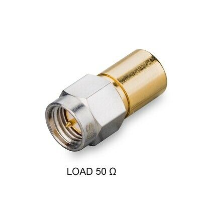 Matched load SMA(male), 50 Ohm, 7 GHz, 2 W