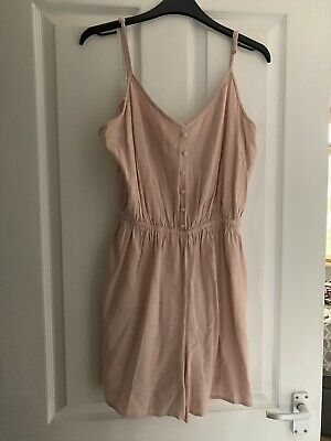 New Look Pink Playsuit Size 16