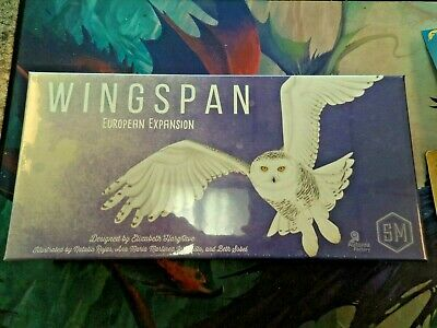 Wingspan European Expansion - Stonemaier Games Board Game New!
