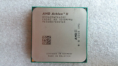 AMD Athlon II X4 620 , AM3, 2000HT, 2.6GHZ, 2MB L2 ,Quad Core, ADX620WFK42GI