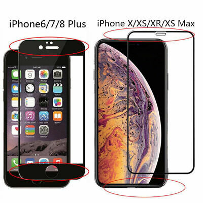 Premium Real Screen Protector Tempered Glass Film For iPhone 6S 7 8 Plus 11 X XR