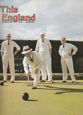 THIS ENGLAND Cultural History Magazine Summer 1982