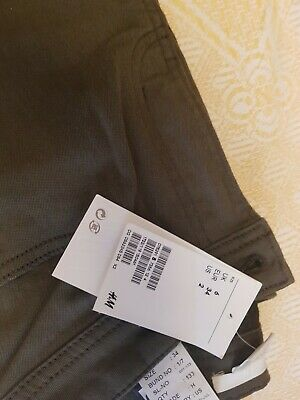 H&M womens Khaki trousers size 6 Brand new with tags