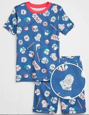 GAP KIDS BOY Star Wars Short PJ Sleep Set NWT 6 10 NWT N6 NNN