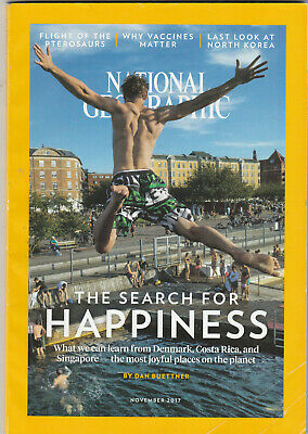 NATIONAL GEOGRAPHIC Magazine November 2017 - The Search For Happiness