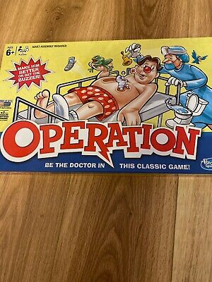 Operation Classic Children's Family Game Hasbro Excellent Condition