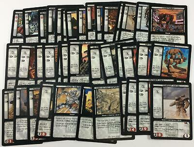 BattleTech CCG TCG Card Game Complete Com//Unc Mechwarrior Expansion Set