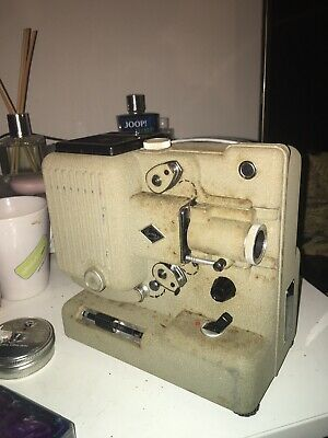 Eumig P8 8mm vintage film projector with extras