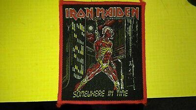 Iron Maiden Somewhere In Time patch - new from old stock