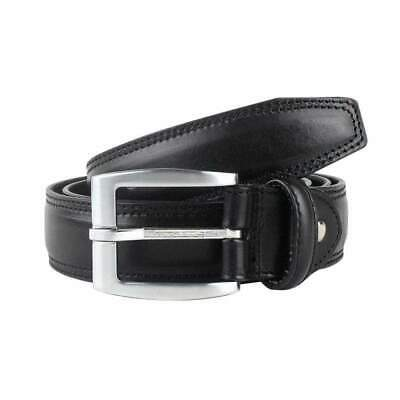 Men's Big+Tall Genuine Leather Belts Black Brown Casual Jeans Dress Sizes 36-46