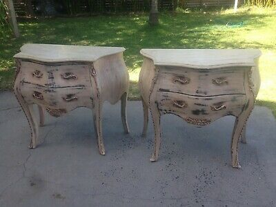 2 French Style Commodes,chest of drawers