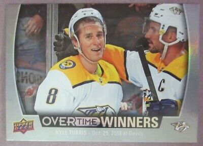 2019-20 Upper Deck Overtime Wave 1 Winners (OW-1-OW-20) U-Pick From List