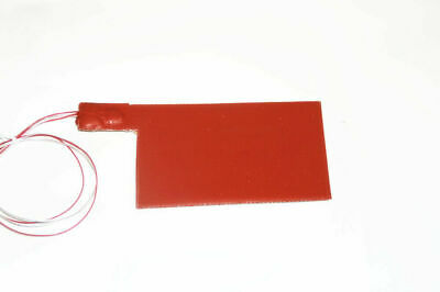 """8"""" X 16"""" 200 X 400mm 24V 60W 15 Degre C Limit 3M Lithium Iron Battery Heater Pad"""