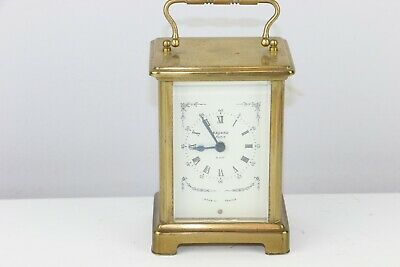 Antique French Duverdrey & Bloquel 7 Jewels Brass Carriage Clock - Excellent