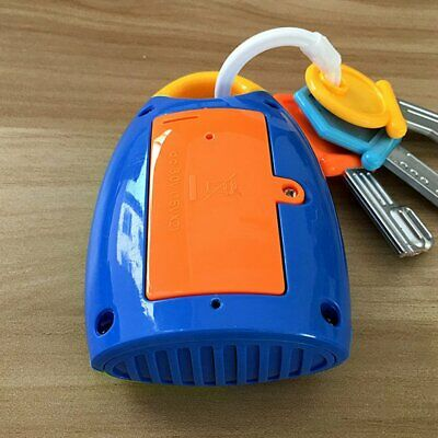Simulation Remote Control Car Key Lock Toy Early Educational Toy for Kids MT