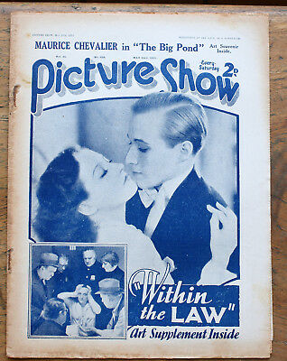 OLD FILM magazine - Picture Show for May 23rd 1931