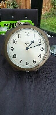 "ANTIQUE 1930's FRENCH ""BAYARD"" WALL DIAL CLOCK ART DECO BAKELITE CASE"