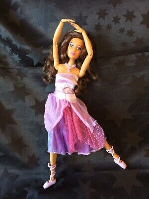 Barbie Hybrid OOAK Ballerina Ashlynn On A Made To Move Body, In Original Outfit