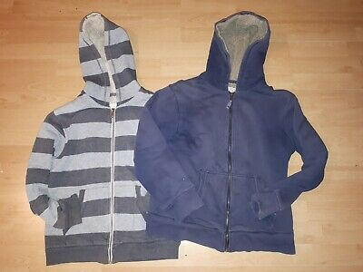 Two/bundle MiniBoden Fleeced Front Zipped Hoodies Ages 10-12 Years