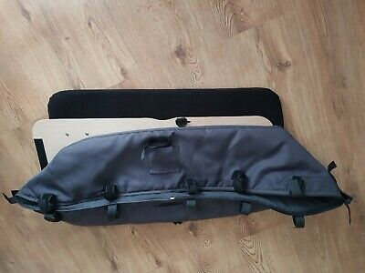 Bugaboo cameleon carrycot Bassinet with mattress & wooden board charcoal colour