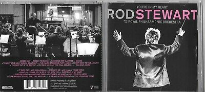 ROD STEWART YOU'RE IN MY HEART 2-CD With Royal Philharmonic Orchestra Release 22