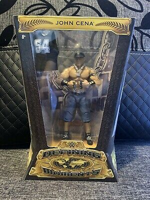 Wwe Elite Defining Moments John Cena Legend Wrestling Figure New Nib