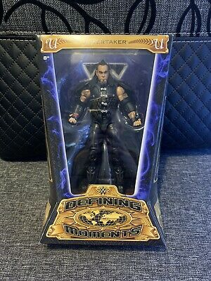 Wwe Elite Defining Moments The Undertaker Wrestling Figure New Nib