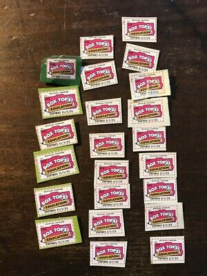 23 BOX TOPS for EDUCATION BTFE exp 2021, 2023