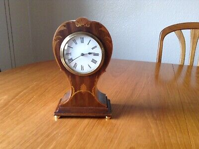 Antique French Balloon Clock, With Platform Escapement