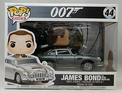 James Bond Sean Connery With Aston Martin DB5 Pop Ride FunKo Free Shipping!