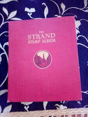 Old Strand Stamp Album 1936, Mint And Used Stamps,Rarely Offered,310 Images