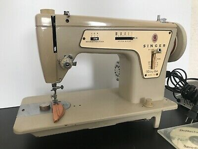 SINGER 237 Model Sewing Machine Industrial Strength Fashion Mate with Pedal