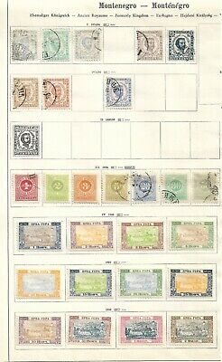 Montenegro 3 pages very old