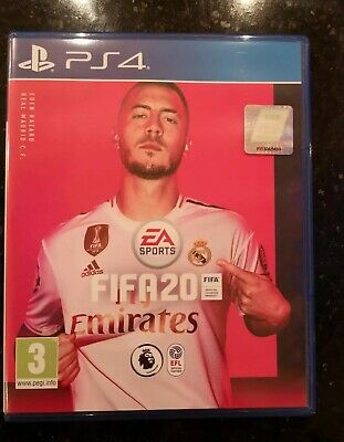 PS4 FIFA 20 mint condition