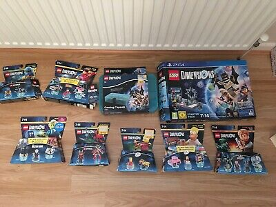 Ps4 Lego Dimensions Starter Pack & 7 X Games Jurassic World Doctor Who Bundle