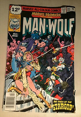 MARVEL PREMIERE 46 Man Wolf Feb 1979