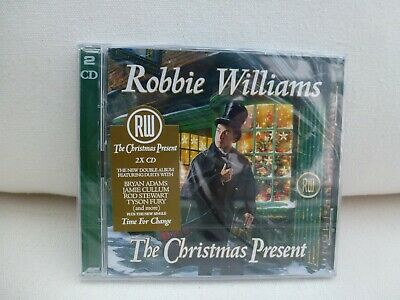 Robbie Williams The Christmas Present - Sealed 2 Disc CD Set