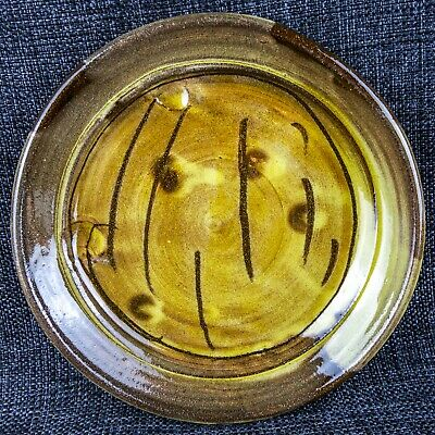 Jean Nicholas Gerard (1954) - Slipware Dinner Plate - Abstract Design
