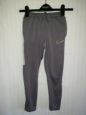 Boys NIKE Dri-Fit Fitted Tracksuit Bottoms Age 8-10 Years