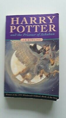 Harry Potter and the Prisoner of Azkaban Rowling 1999 1st Edition 1st Print