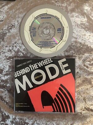 "Depeche Mode - Behind The Wheel - Mini CD 3"" Single - CDBong 15 - Germany Import"