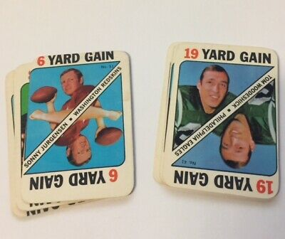 1971 Topps Game Football Singles You Pick