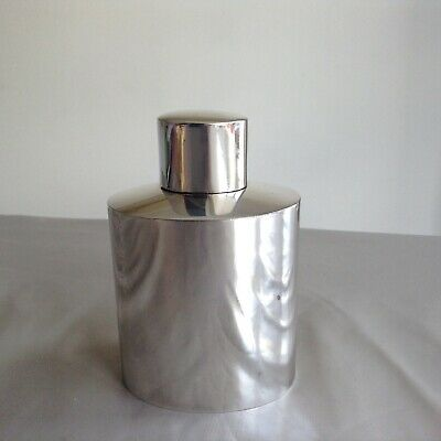 Rare Antique Silver Plated Tea Caddy Mappin & Webb London & Sheffield
