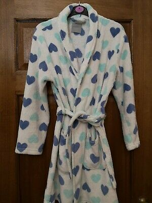 New Look Heart Dressing Gown Size S