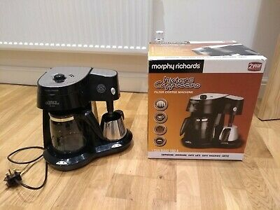 Morphy Richards Mister Cappuccino Combi Coffee Maker With