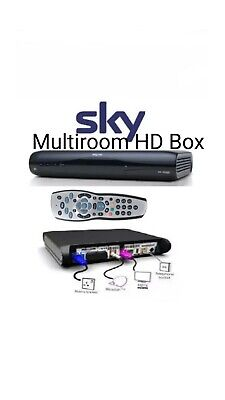 Sky Hd Multiroom Box Drx595.Comes With Remote And Power Lead.